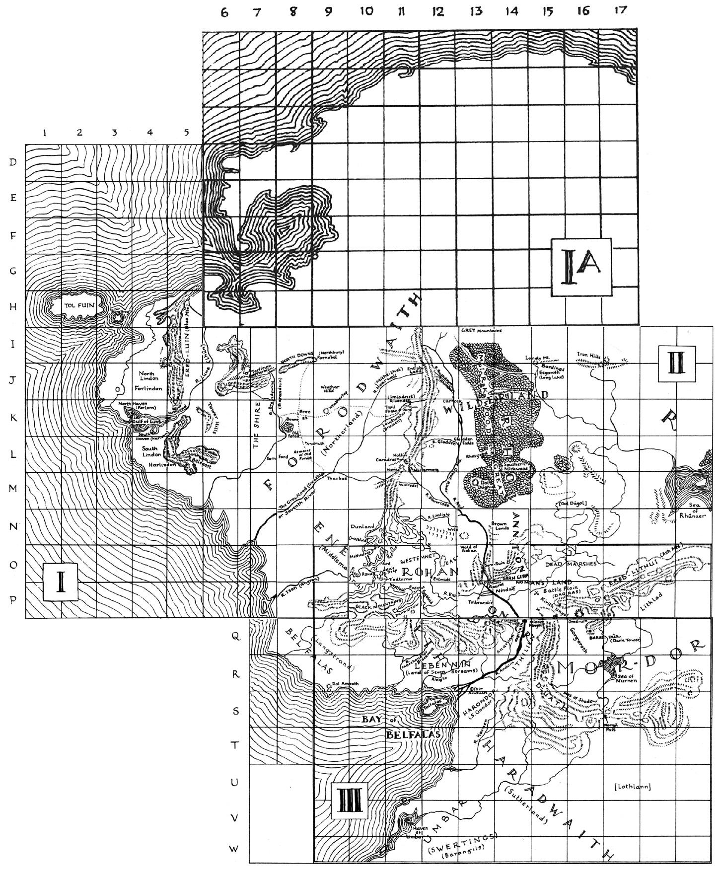 Tolkienin Keski Maan Kartta Vihdoin Nahtavilla Laiton Lehti