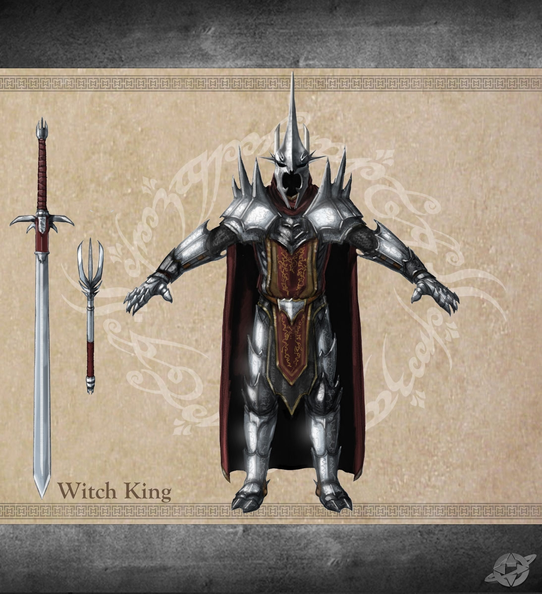 witch king of angmar the one wiki to rule them all fandom
