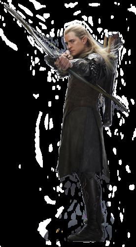 "Legolas w trylogii ""Hobbit"" Petera Jacksona"