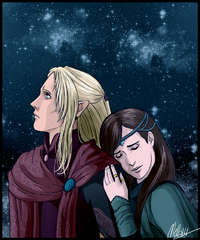 Aegnor and andreth by mellorianj-d7f8ibk