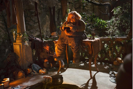Bombur in Rivendell