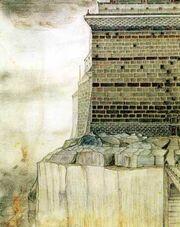 Барад-Дур (рисунок Толкина)