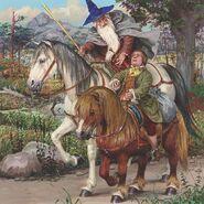 Бильбо получил пони для похода к Эребору
