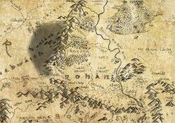 Dunland-mapa