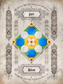 Silmarillion heraldry beor by aglargon-d8hakvn