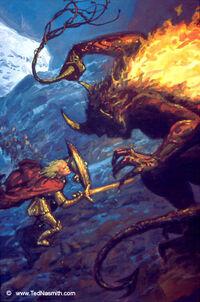 Glorfindel and the Balrog