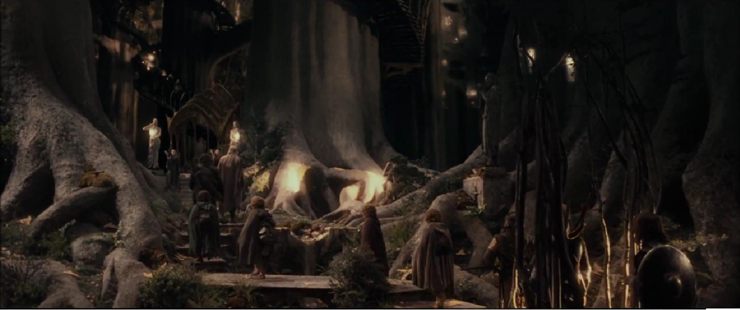Elves lord of the rings magic
