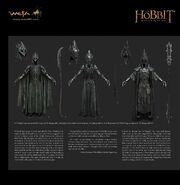 THE HOBBIT- THE BATTLE OF THE FIVE ARMIES - CHRONICLES- THE ART OF WAR — Nazgul