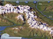 Das weiße Gebirge