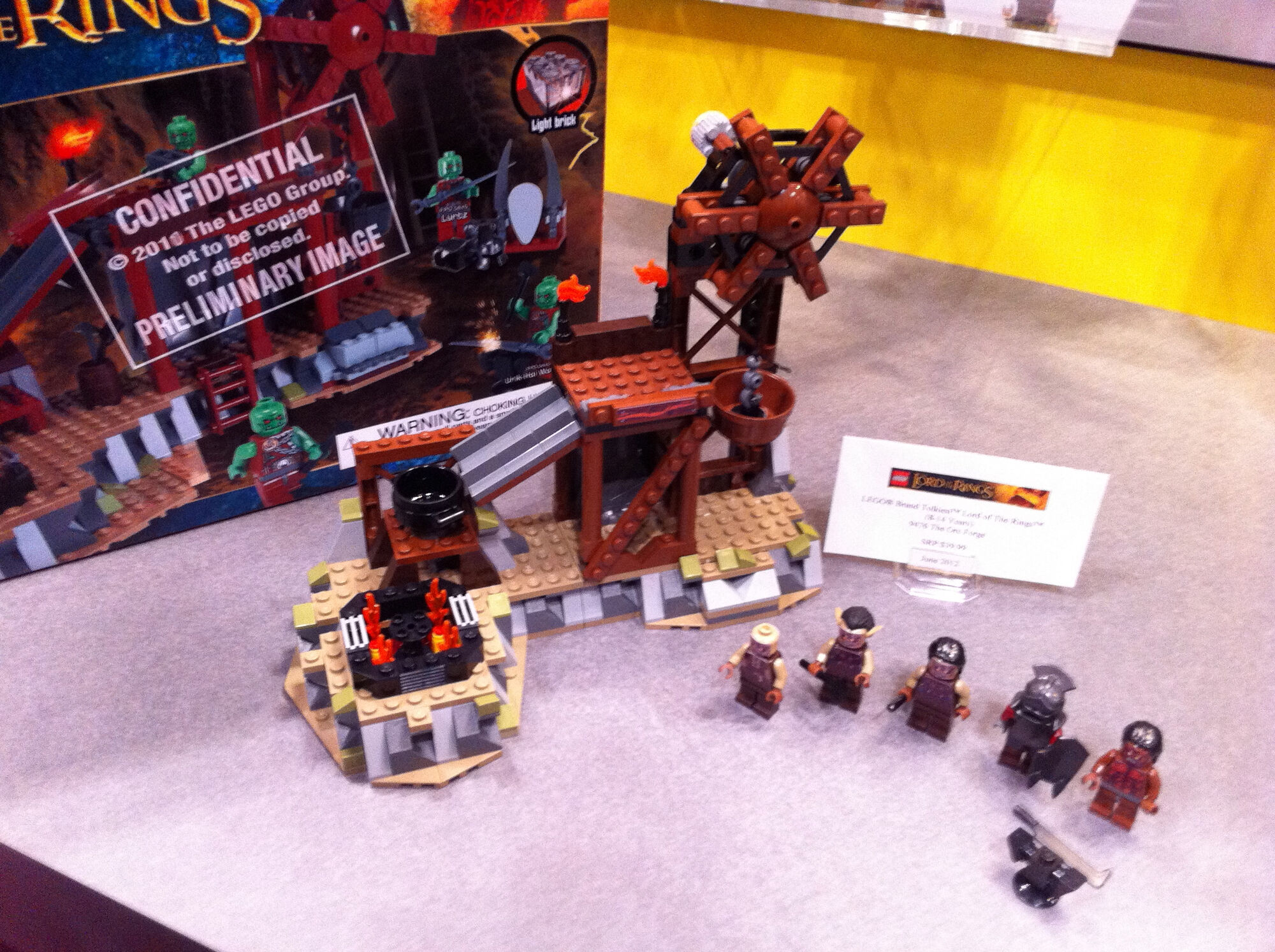 Lego The Lord Of Rings One Wiki To Rule Them All Fandom Battle At Black Gate 79007 Orc Forge