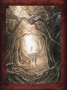 The Two Towers Extended Edition DVD Inner Painting