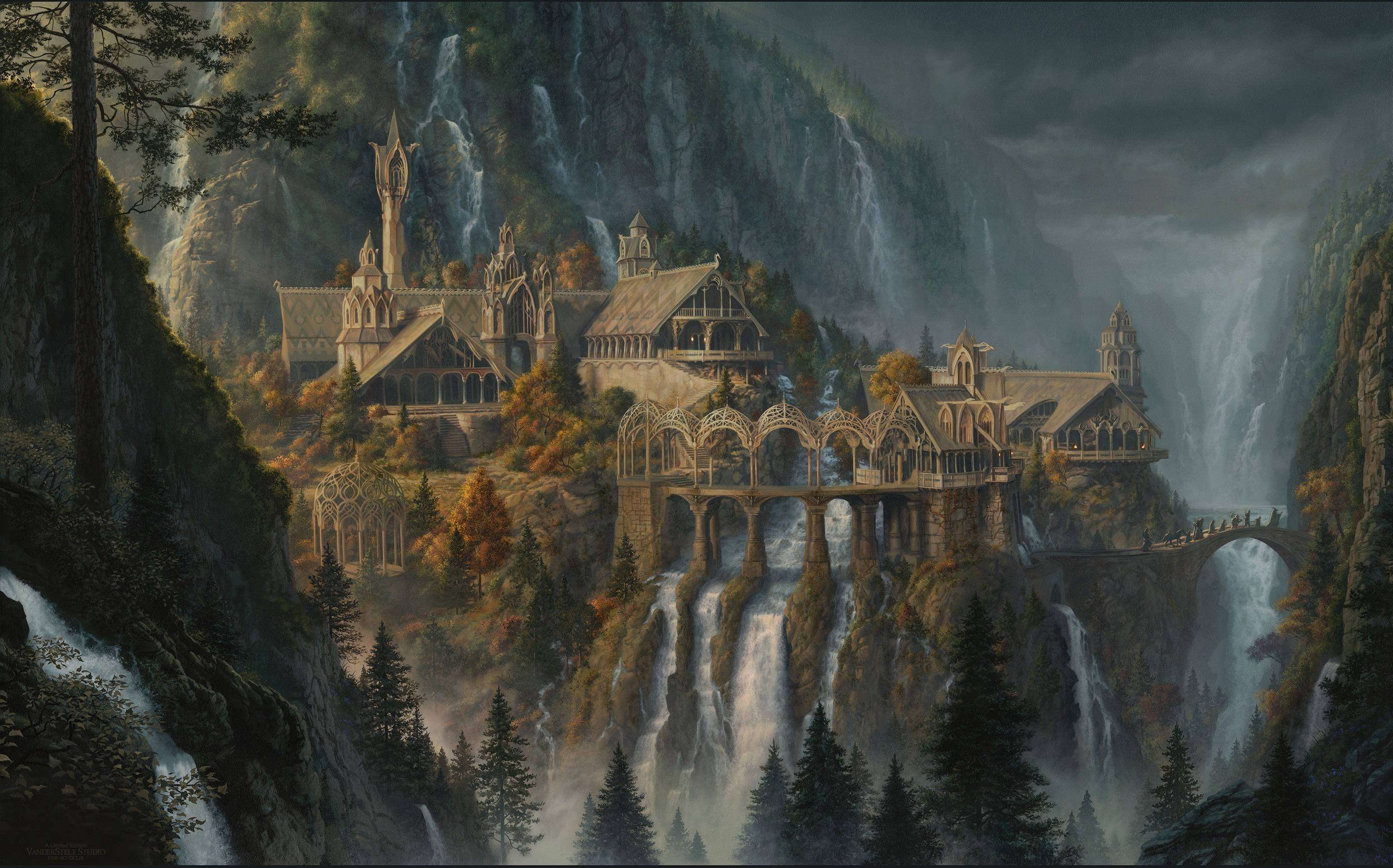 Lord of the Rings Rivendell Zoom Background