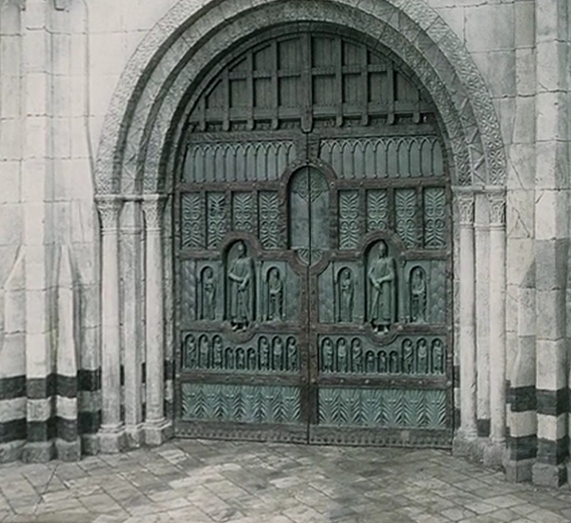 The Main Gate Of Minas Tirith As Portrayed In The Lord Of The Rings Film Trilogy. image number 39 of mithril door ... & Mithril Door \u0026 The Main Gate Of Minas Tirith As Portrayed In The ...