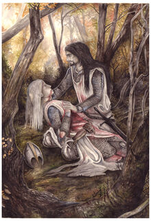 Gwindor s death by peet by the silmarillion