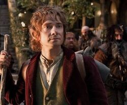 Bilbo Baggins from The Hobbit Wallpaper
