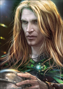 Glorfindel before the storm by venlian