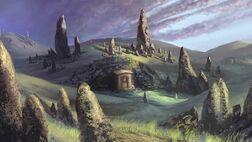 Hügelgräber Cardolans
