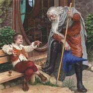 Бильбо знакомится с Гэндальфом