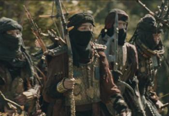 """Haradrimowie w adaptacji """"Władca Pierścieni: Dwie wieże"""" w reżyserii Petera Jacksona"""