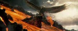 Gwaihir i Gandalf