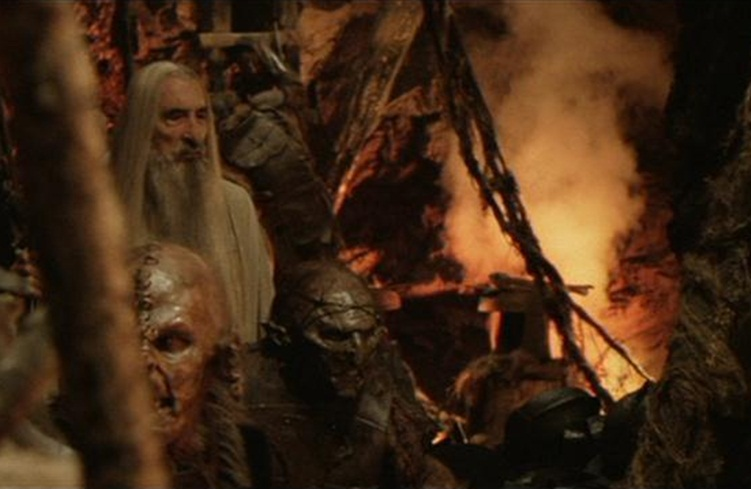 image saruman the pitjpg the one wiki to rule them