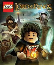 Lego the lord of the rings the video game poster