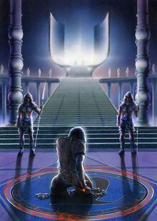 Melkor The Halls of Mandos