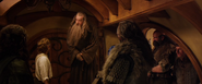 The Hobbit-Unexpected Journey-Bilbo Baggins, Gandalf and Dwarves