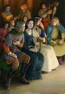 Арагорн выступает на Совете у Элронда