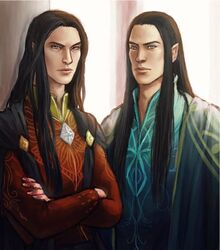 Feanor and Fingolfin by ForeverMedhok