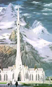 Ted Nasmith - At the Court of the Fountain