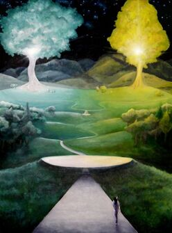 Two Trees of Valinor by Patchak