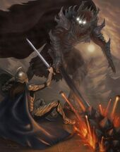 Fingolfin and Melkor