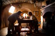 The Hobbit (film series) - Martin Freeman and Peter Jackson