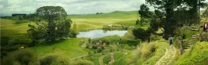 Panoramic view of Shire .