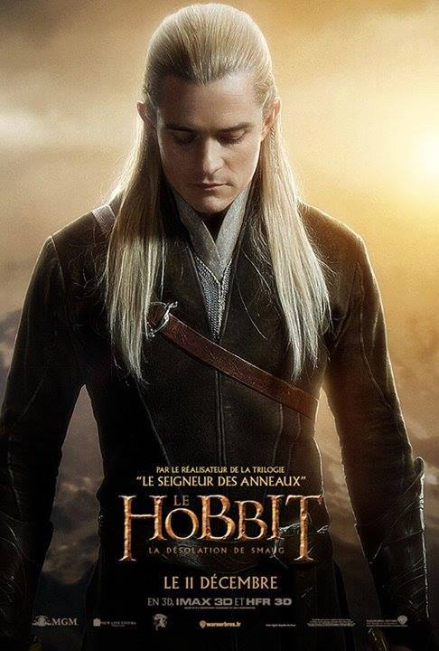A French Character Poster Of Legolas