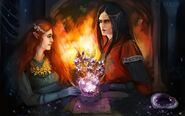 Feanor - Nerdanel by IOLFS