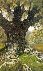 Ted Nasmith - The Willow Man is Tamed
