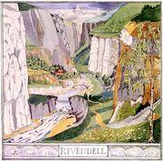 Ривенделл by Tolkien