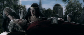 Aragorn's death