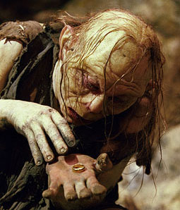 Image result for gollum ring