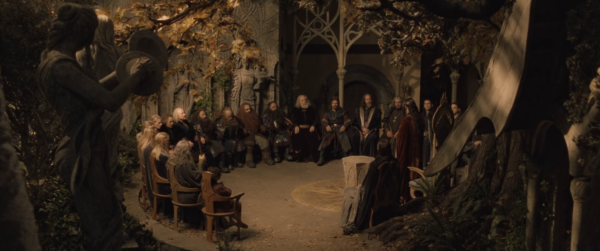The Fellowship Of The Ring Movie Elves