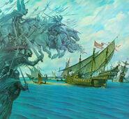 Армия мёртвых громит флот Умбара