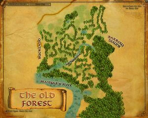 Map - Old Forest