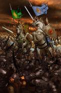 Nirnaeth arnoediad turgon and glorfindel by ivanalekseich-d7i0wi5