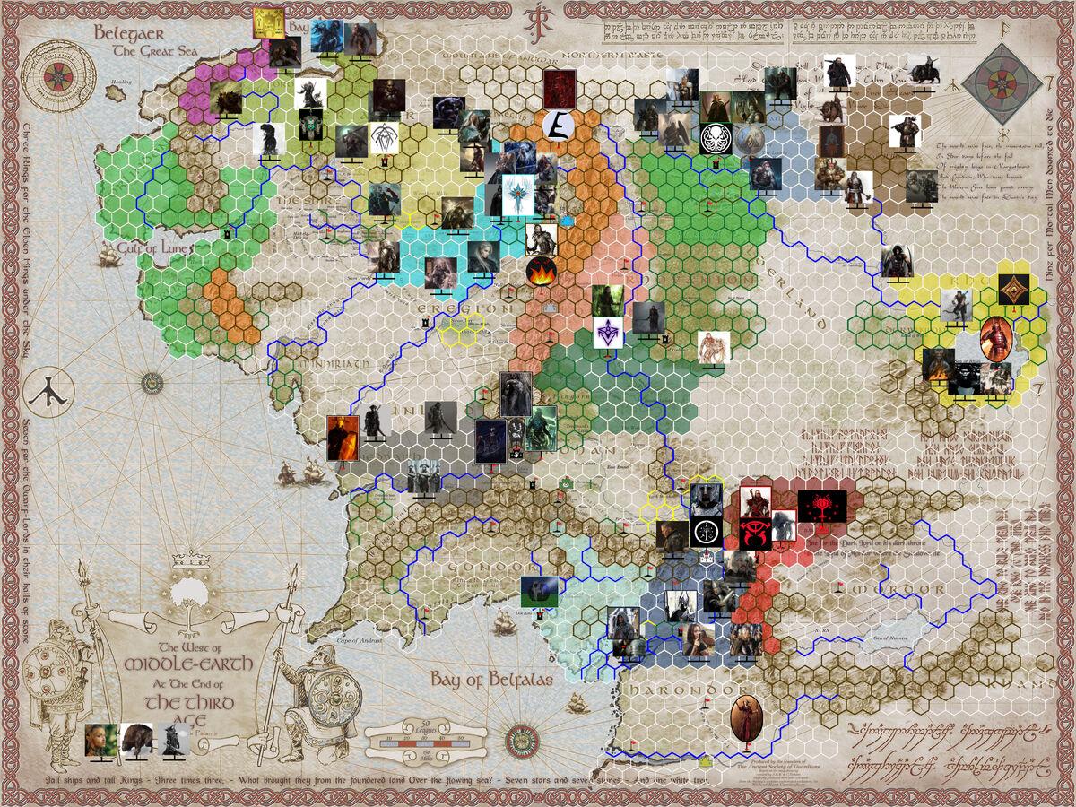 Mapa Tierra Media Hd.La Tierra Media Lotr2018 Wiki Fandom Powered By Wikia