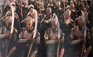 Elves at the siege of moria