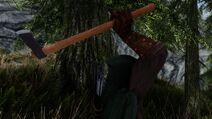 Tawredir's throwing axe
