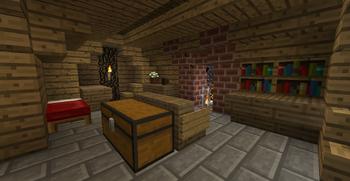Smial sleeping room