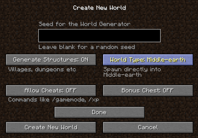 super flat world generator
